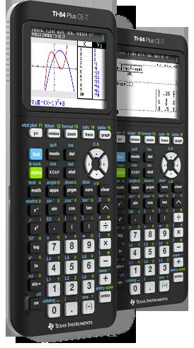 Калькулятор графический Texas Instruments TI-84 Plus CE-T
